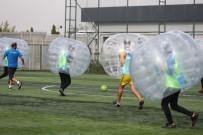 KAYAŞEHİR - Gençlik Oyunları'nda Balon Futbolu Heyecanı