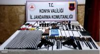 Konya'da Kaçak Silah İmalathanesine Baskın