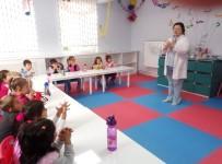 Minik Öğrencilere Doğru Yöntemle El Yıkama Ve El Temizliği Anlatıldı