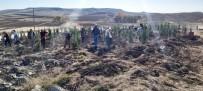 Sorgun'da Bin 800 Fidan Toprakla Buluştu