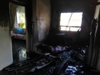3 Yaşındaki Çocuk Yangında Ağır Yaralandı