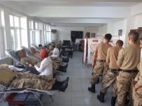 30 Komando Kan Bağışında Bulundu