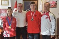 Başkan Sertaslan Şampiyon Sporcuları Tebrik Etti