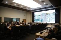 Başkan Yüce, Altyapı Koordinasyon Toplantısında Kurum Ve Kuruluş Yetkilileriyle Buluştu