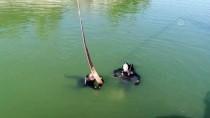 Denizli'de Annesinin Evinden Çaldığı Çelik Kasayı Gölete Atmış