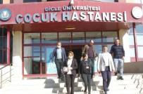 Diyarbakır Büyükşehir Belediyesi Lösemili Çocukları Unutmadı