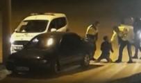 Ehliyetsiz Alkollü Genç, Polisin Dur İhtarına Uymadı, Dayak Yedi