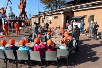 Erdemir Limanı'nda Öğrencilerle Tatbikat