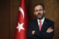 Gençlik Ve Spor Bakan Mehmet Muharrem Kasapoğlu Isparta'ya Geliyor