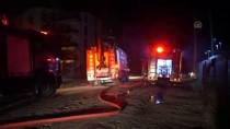 Hurdalıkta Çıkan Yangın Yerleşim Yerlerine Sıçramadan Söndürüldü