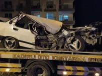Hurdaya Dönen Otomobilden Sağ Çıkıp Kaçtı