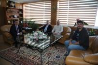 İHLAS - İHA Ekibinden Emniyet Müdürü Tipioğlu'na Ziyaret