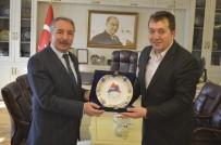 İHLAS - İHA Erzurum Bölge Müdürü Türkez, Ağrı'da Çeşitli Ziyaretlerde Bulundu