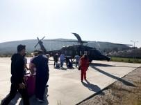 Jandarma Helikopteri 'Hayat Kurtarmak' İçin Havalandı