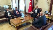 Kurtulmuş, KKTC Tarım Ve Doğal Kaynaklar Bakanı Oğuz İle Görüştü