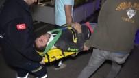 Mağaza Tadilatında Çalışan Genç İşçi Yüksekten Düşerek Yaralandı