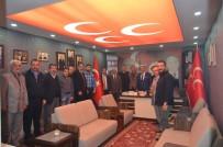 MHP Erzurum İl Başkanı Karataş Meclis Üyeleri İle İstişare Etti