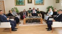 Müdür Başyiğit, 'Yaralı Keklik' Filminde Rol Alan Öğrencileri Kabul Etti