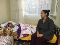 (Özel) Damak Kanserine Yakalanan Kadın Ağzını Kullanamıyor, Kızı Yardım Eli Bekliyor