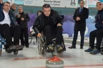 Protokol Üyeleri İle 'Tekerlekli Sandalye Curling Milli Takımı' Hazırlık Maçı Yaptı