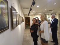 Ressam Kudret Sönmez'in Sulu Boya Çalışmaları Görücüye Çıktı