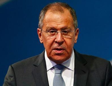 Lavrov: 'ABD petrol için Suriye'yi bölmek istiyor'
