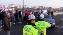Tekirdağ'da Otomobil Park Halindeki Kamyona Çarptı Açıklaması 1'İ Ağır 3 Yaralı