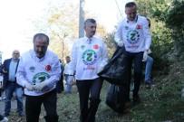 'Temiz Bir Kent İçin Hep Birlikte' Sloganı İle Sokak Sokak Çöp Topladılar