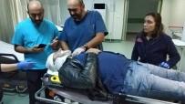 Ticareti Taksi Motosiklete Çarptı Açıklaması 1 Yaralı