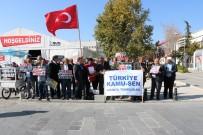 Türkiye Kamu-Sen Niğde İl Temsilcisi Adnan Özer Açıklaması