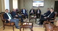 Vali Memiş Ve Başkan Sekmen'den Rektör Levent'e Ziyaret
