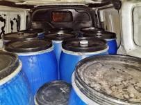 Yılbaşı Öncesi 12 Varil Kaçak İçki Ele Geçirildi