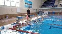 YAZ MEVSİMİ - Adıyaman Belediyesi Kış Spor Okullarında Yüzme Kursu Eğitimleri Başladı