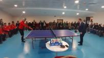 Ardahan'da 'Engelleri El Ele Aşalım Projesi' Kapsamında Masa Tenisi Turnuvası Düzenlendi