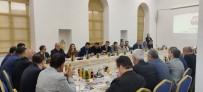 TAHIR ŞAHIN - Çanakkale Ticaret Borsası Heyetinden DTSO'ya Ziyaret