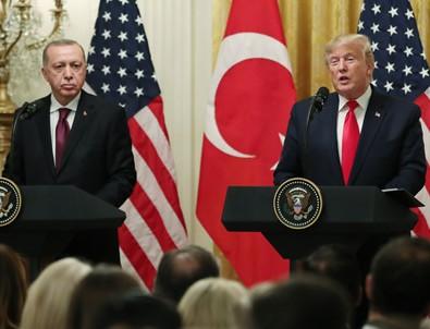 Erdoğan ve Trump ortak açıklama yaptı!