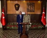 EDOK Komutanı Türkgenci'den Vali Deniz'e Ziyaret