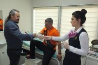 Kırık Koluyla Yarışa Devam Edip Türkiye Üçüncüsü Oldu