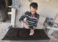 NEMRUT DAĞI - (Özel) Ahlat Taşı Usta Ellerde Sanat Eserine Dönüşüyor