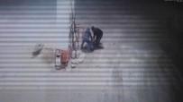 AKSARAY ÜNIVERSITESI - Darp edilip gasp edildiği anlar kamerada