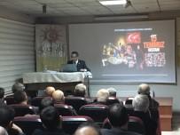 Prof. Dr. Ahmet Beşe, Güneş Vakfı'nda 'Türk-Amerikan İlişkileri Ve Günümüze Yansımaları'Nı Anlattı