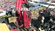Trafikten Men Edilen 418 Motosiklet Geri Dönüşüme Gönderildi