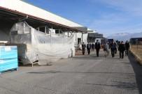 Vali Arslantaş, Süt İşleme Tesisinde İncelemelerde Bulundu