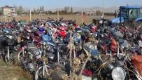 Yıllardır Bekleyen 418 Motosiklet Geri Dönüşüme Gönderiliyor