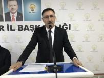 AK Parti İl Başkanı Tutulmaz'dan İstifa Sonrası Açıklama