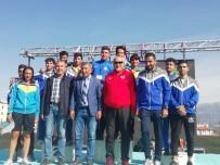 MEHMET ALI ŞAHIN - Atatürk'e Saygı Gençlik Yol Koşusunda ADÜ'den Büyük Başarı