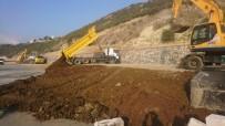 BİSİKLET YOLU - Darıca Sahili'nde Hummalı Çalışma