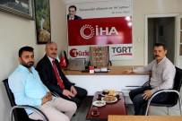PARK YASAĞI - Emniyet Müdürü İbrahim Ergüder'den İHA'ya Ziyaret