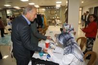 Eyüpsultan Belediyesi'nde 'Diyabet Günü'Nde Personele Sağlık Taraması