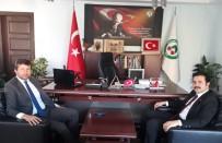 Kaymakam Fırat'tan Başkan Demirci'ye İade-İ Ziyaret